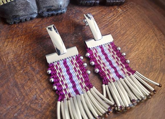 Aros tassel / tassel earrings