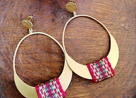 Maxi aros Ciprés / Maxi Ciprés Earrings