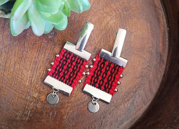 Aros canelo coleccion nuestra tierra / canelo earrings