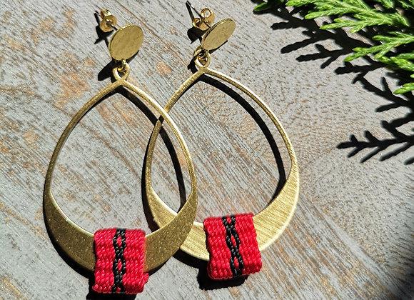 Aros Mañio /  Mañio earrings
