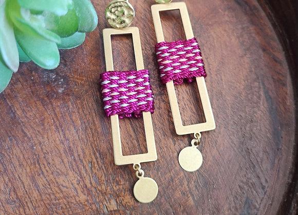 Maxi aros Roble/ Maxi Roble earrings