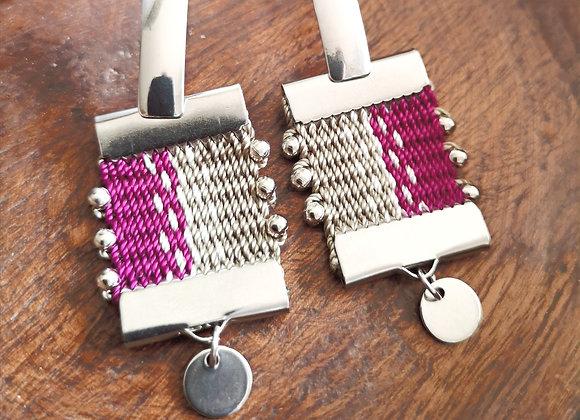 Aros canelo / canelo earrings