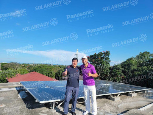 Derek Ramsay Enjoys the Solar Powered Lifestyle