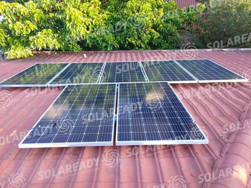 10.12 kWp Solar Grid Tie System Installation for Judy Ann Santos