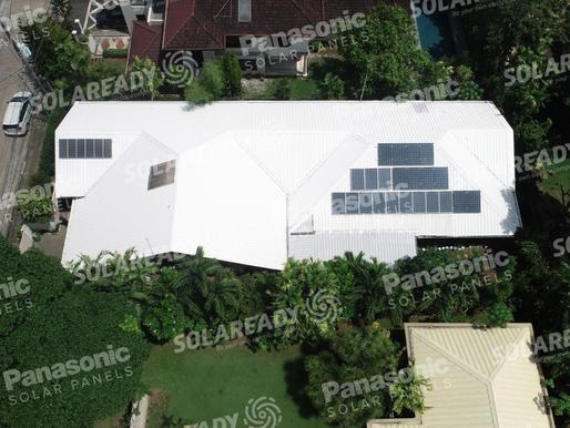 5 kWp Grid Tie Solar Installation in Muntinlupa