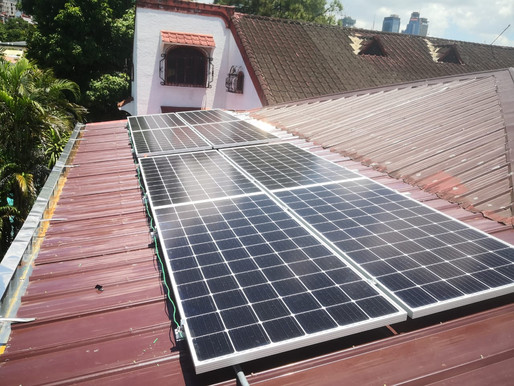 3 kWp Grid Tie Solar System Installation in Pasig City