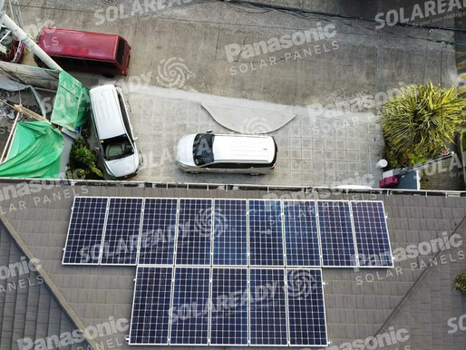 5.32 kWp Solar Grid Tie System Pasig