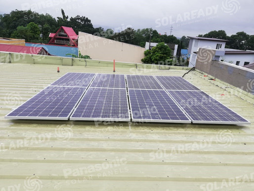 3.04 kW Panasonic 380 Installation in Batasan Hills