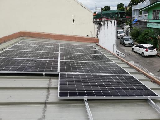 3.42 kWp Grid Tie Solar Installation in Parañaque City