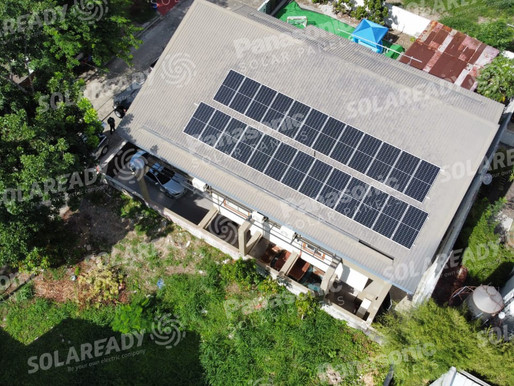 10 kW On-Grid Installation with REC Solar Panels
