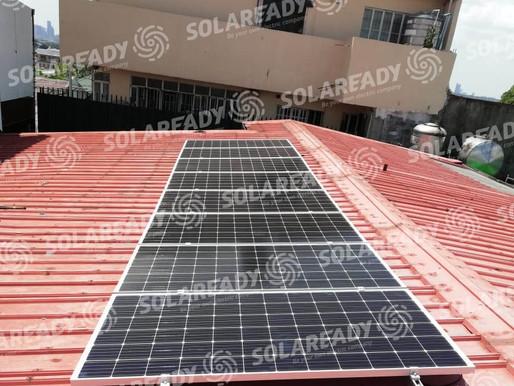 3.04 kWp Solar Grid Tie System Installation in Alabang Hills