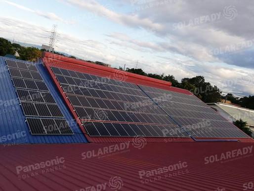 70.68 kWp Solar Grid Tie System Installation in San Pedro