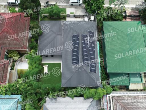 Grid Tie Solar Installation in Muntinlupa