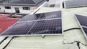 6 kW Installation using REC 400W in Ayala Alabang Village