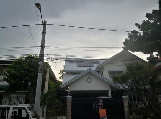 5 kWp Solar Grid Tie System Installation in Alabang Hills, Muntinlupa