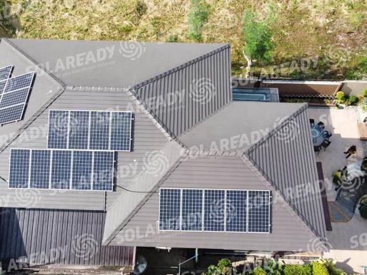 8.36 kWp Solar On-Grid System Installation in Loyola Grand Villas