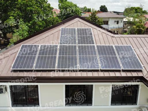 3 KW REC On-grid Solar Panel Installation in Old Balara, Quezon