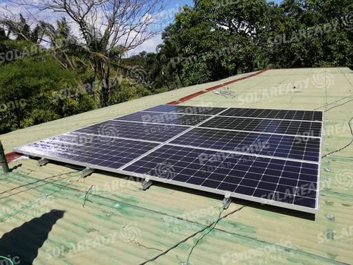 3.04 kWp Grid Tie Installation in Canlubang, Laguna