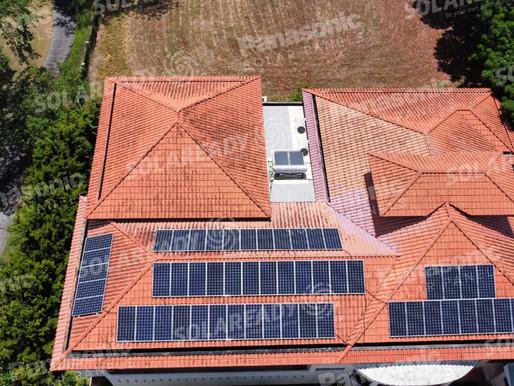20 KW On-grid Solar Panels Installation Southwoods, Binan