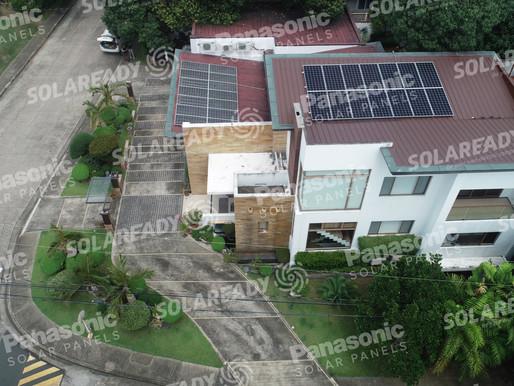 13.68 kWp Grid Tie Solar Installation in Ayala Alabang, Muntinlupa