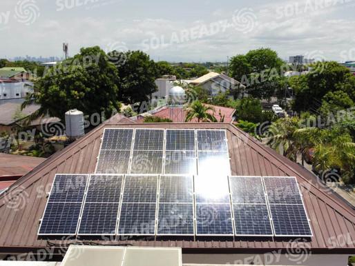 4.46 kWp Solar On-Grid System Installation in Calcutta, Manila