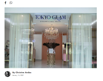 Be Safe and Glamorous at TokyoGLAM | As Featured on AsiaTatler.com
