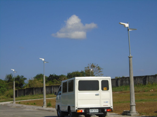 Memorial park in San Jose del Monte, Bulacan invests in solar-powered street lights