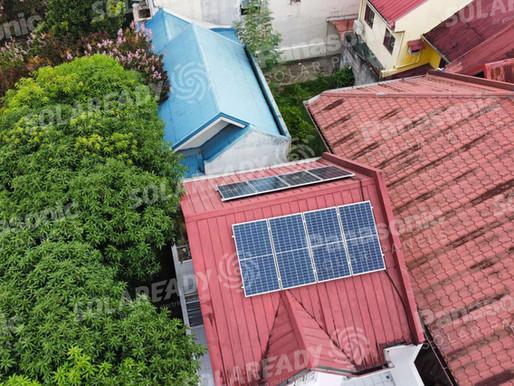 3 kW On-Grid Solar Panel using 400W REC Installation in Cainta