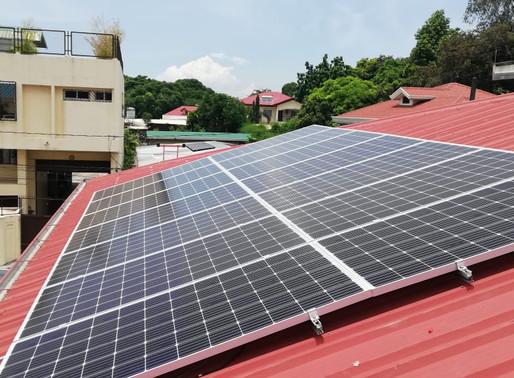 5 kWp Solar Grid Tie System Installation in Bicutan