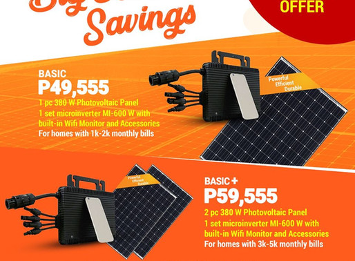Solaready Promo: Making the Solar Switch Now Made Affordable