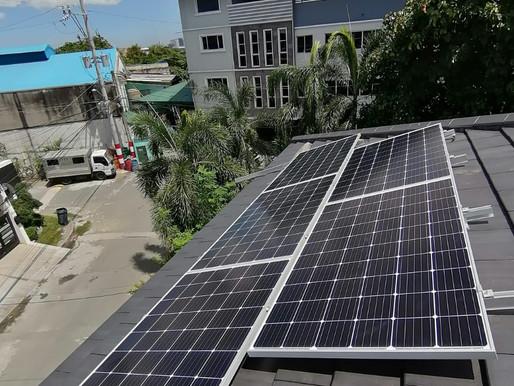 5kW solar grid-tied system installed in Moonwalk, Parañaque