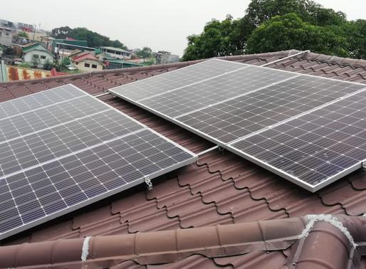 3 kWp Solar Panel Installation in Las Pinas City