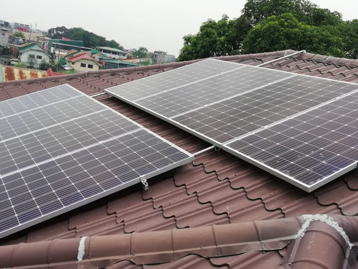 3 kWp Solar Panel Installation in Las Pinas City