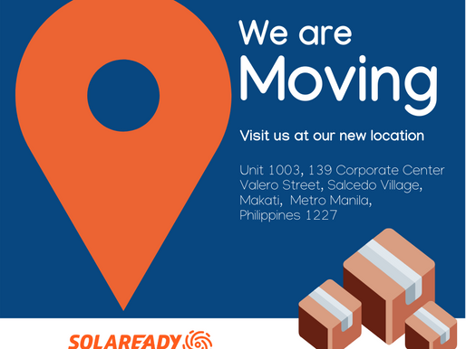 Solaready's New Home