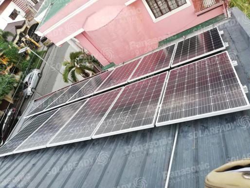 2.28 kW Solar Grid Tie Installation in Calamba, Laguna