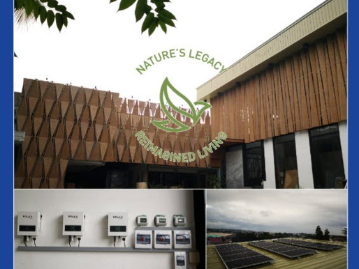 Nature's Legacy in Cebu is powered by solar energy