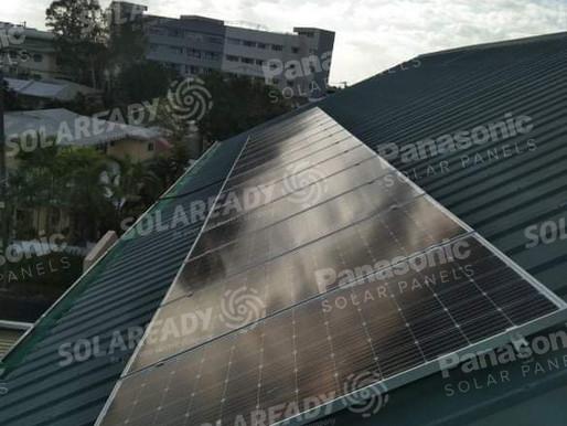 5.32 kWp Solar Grid Tie System in Paranaque