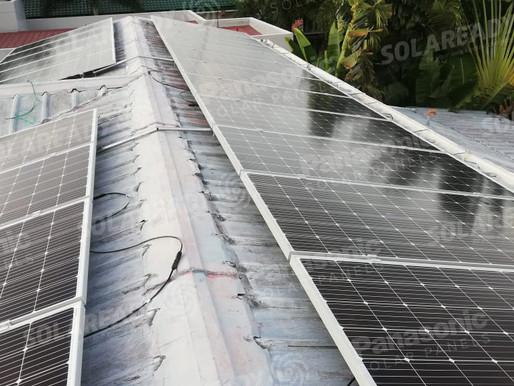 8.36 kWp Grid Tie System in Hillsborough, Alabang