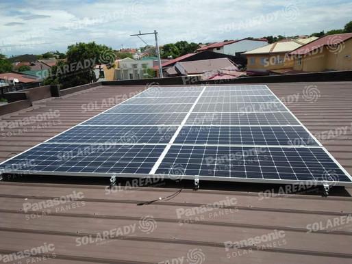 5.32 kWp Grid tie Installation in BF Resort Village