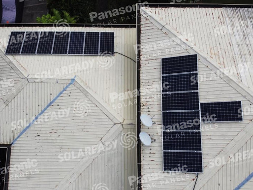 5.32 kWp Solar Grid Tie System Installation in Ayala Alabang Village