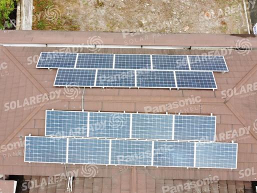 5 kW On-Grid Panasonic Solar Panel  Installation in Taguig