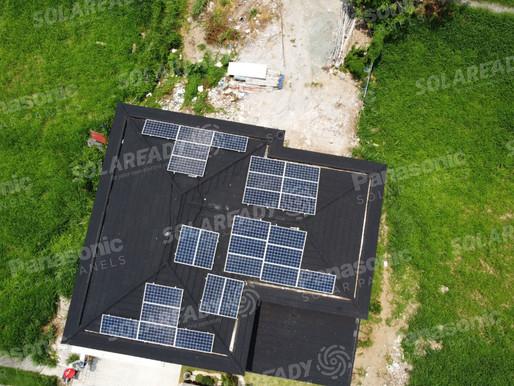 10 kW On-Grid Solar Panel Installation using Panasonic 380W Muntinlupa