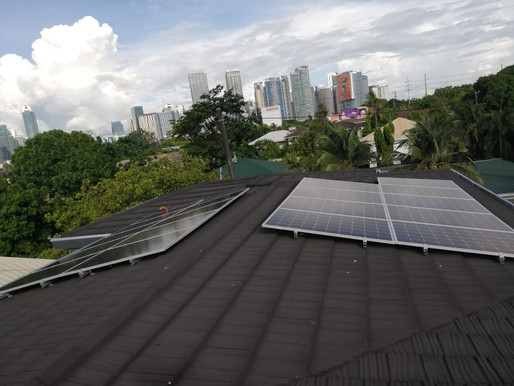 5kW solar grid-tied system installed in Bel-Air, Makati