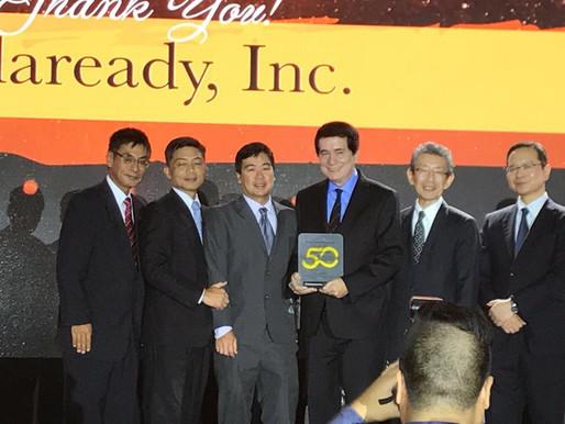 Solaready Awarded by Panasonic in 2017