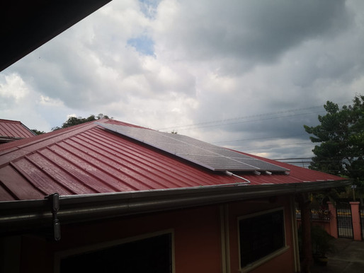 3.04 kWp Grid Tie Solar Installation in Mataas na Kahoy, Batangas