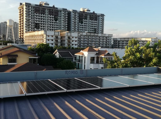 3 kWp Grid Tie Solar System Installation in Taguig City