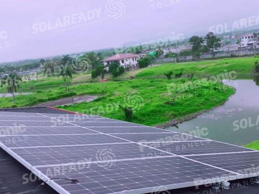 5 kWp Solar Grid Tie Installation in Eton City