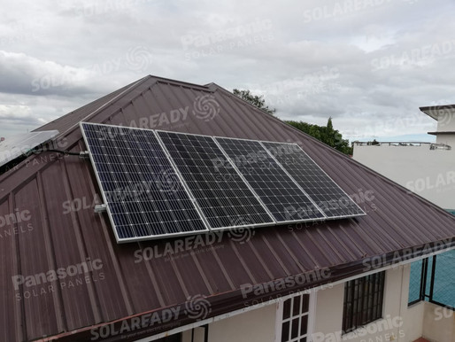 3.04 kWp Solar Grid Tie System in BF Homes