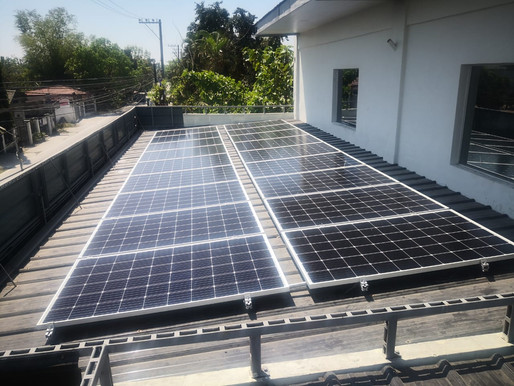 5kW solar grid-tied system installed in Calumpit, Bulacan