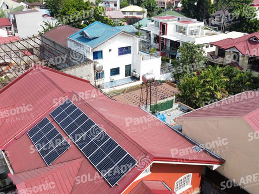 6 kW On-Grid Solar Panel Installation using REC 400 W in Valenzuela City